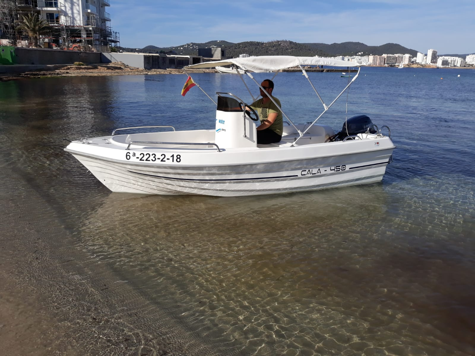 Boat Rental no licenses required in Ibiza full day | Hire Boat in ibiza