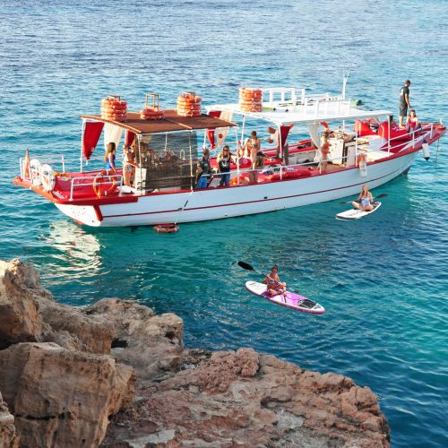 3 hours all inclusive boat trip 14.00 - 17.00