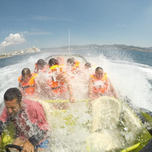 Jet boat cave tour and beach jet cruise